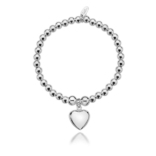 Sophia Big Heart Bracelet