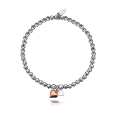 Gigi Rose Hearts Bracelet