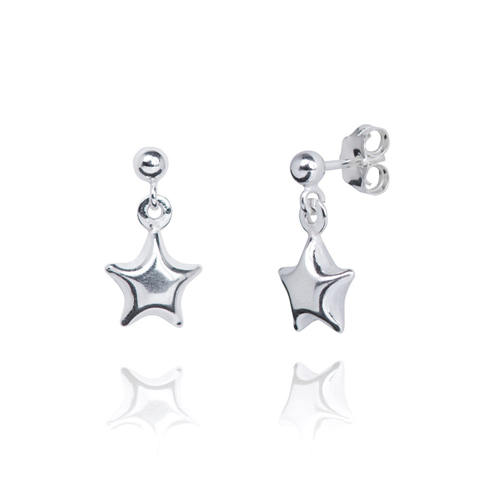 Astra Silver Charm Earrings