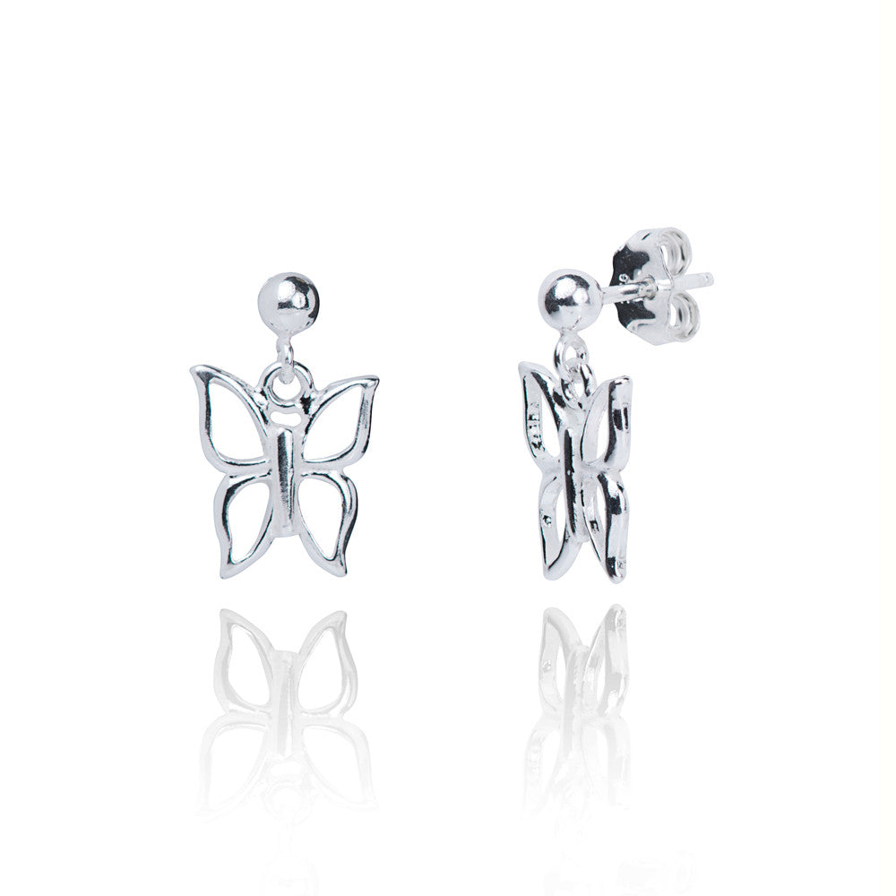 Pippa Silver Charm Earrings