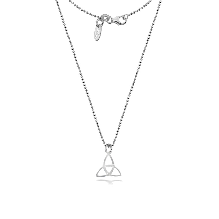 Trefoil Knot Necklace