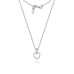 Annabelle Open Heart Necklace