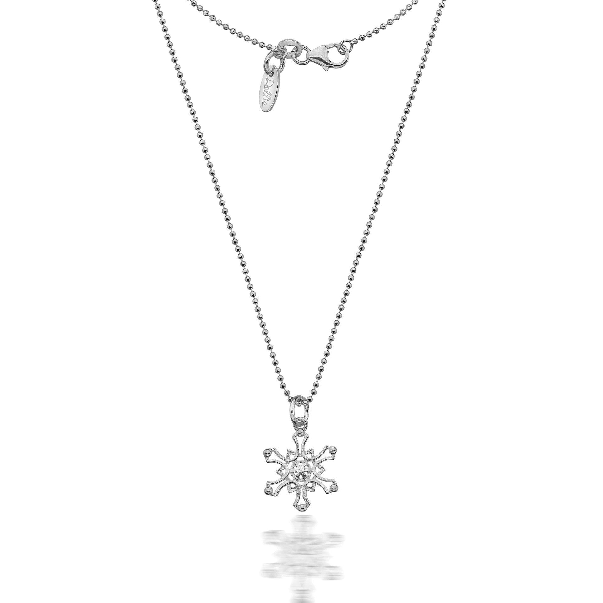cz holiday large jewelry winter necklace pendant az hsh snowflake bling