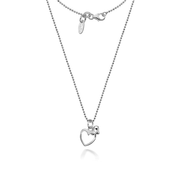 Alicia Double Heart Necklace