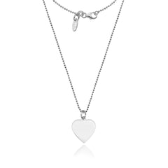 Dollie Engravable Heart Pendant