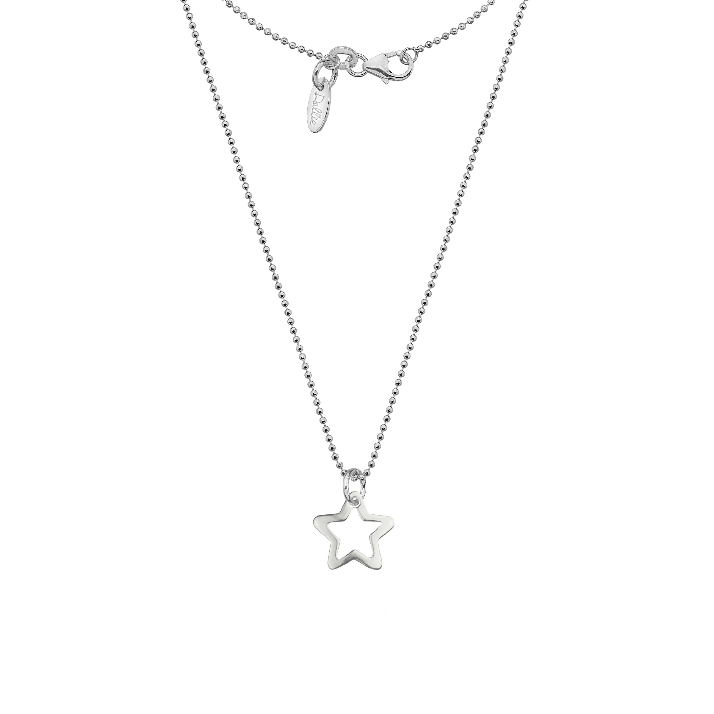 Open Star Necklace