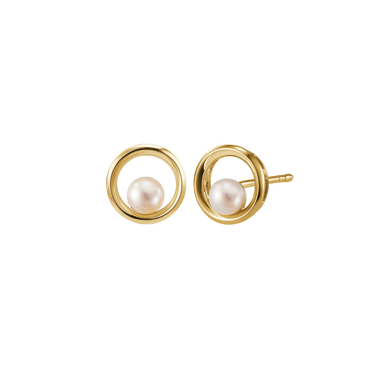 Eva earrings with pearls