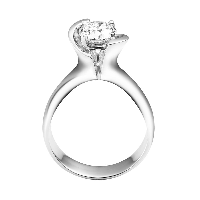 Amara diamond solitaire ring