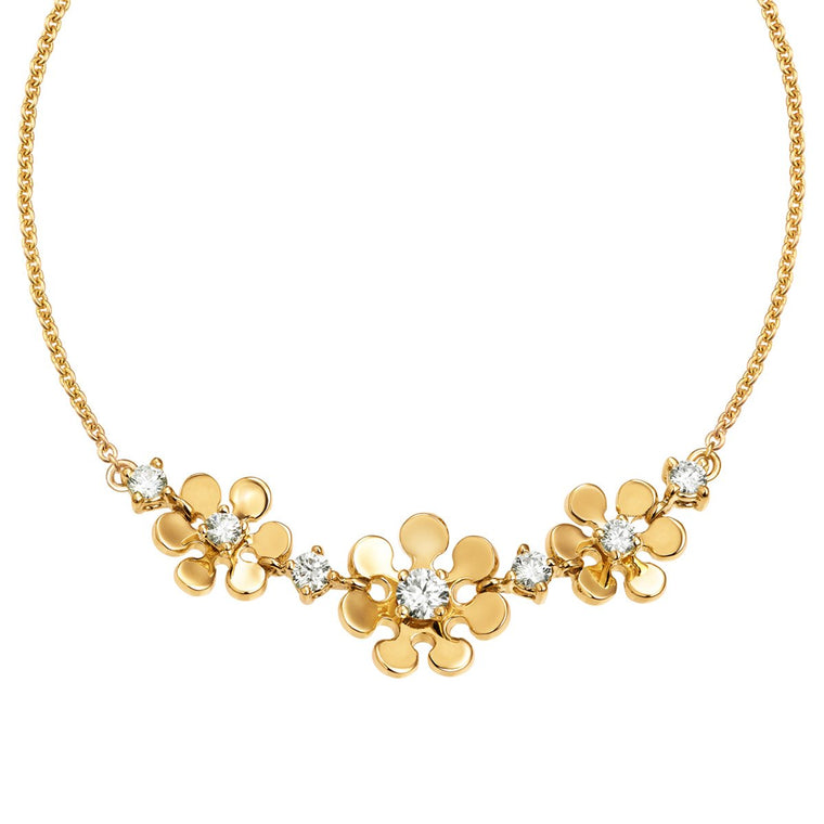 Chloe diamond necklace