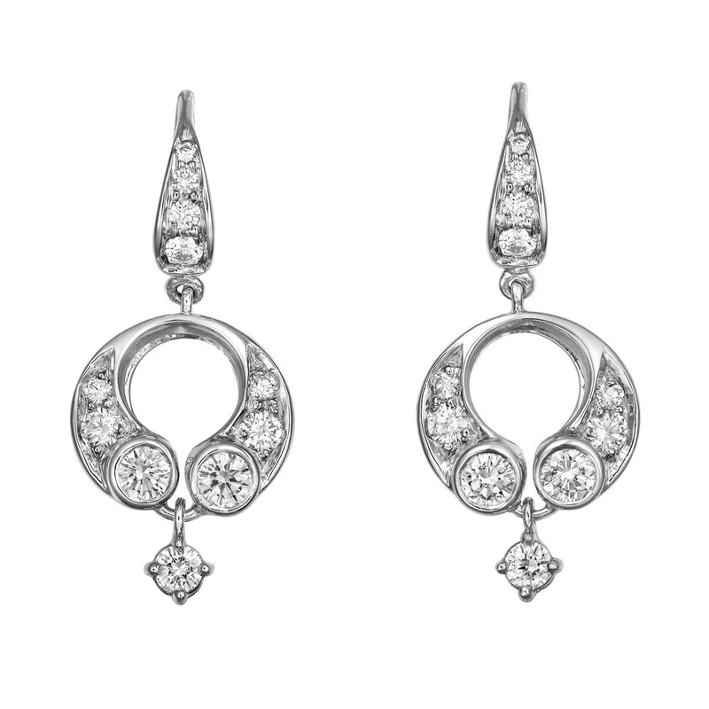 Daralis diamond earrings