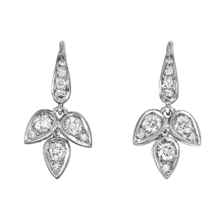 Daralis diamond drop earrings