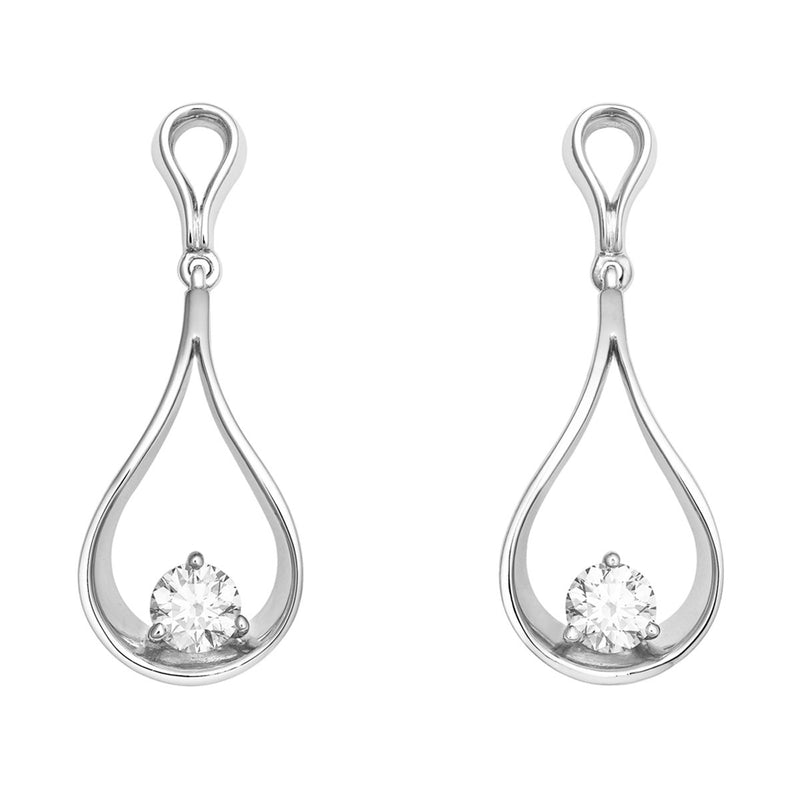 Elin diamond earrings