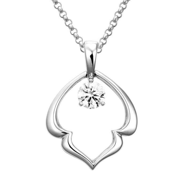 Hana diamond pendant
