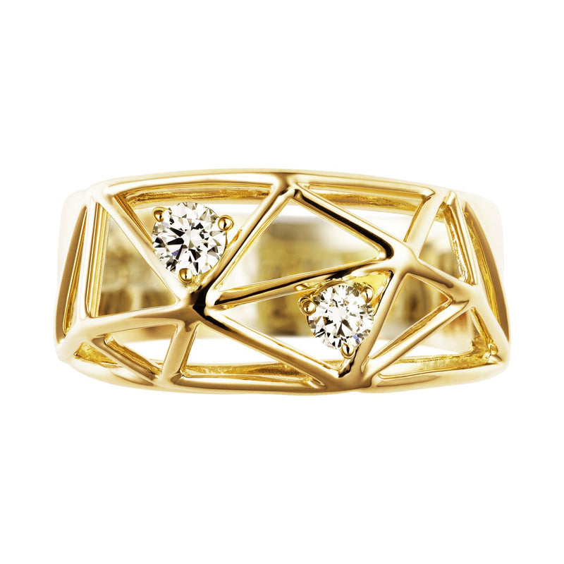 Ilona luxe diamond ring