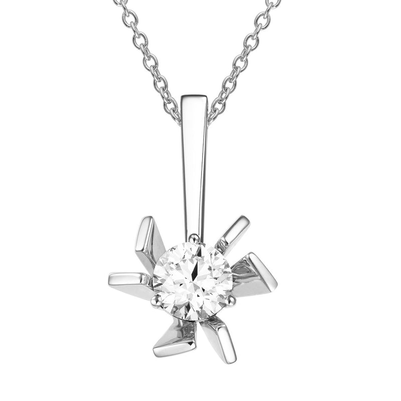 Lani diamond pendant