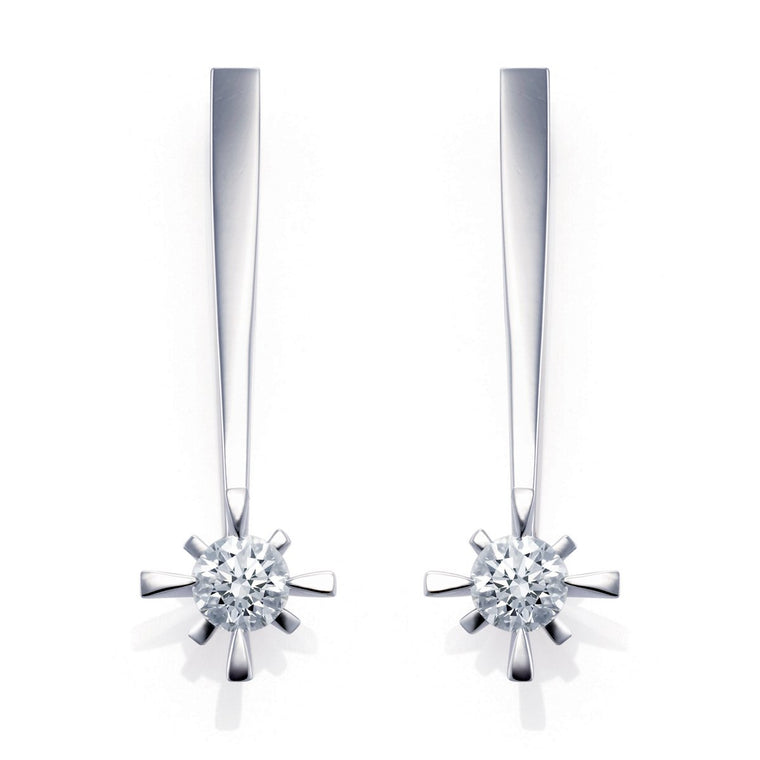 Liberty diamond earrings