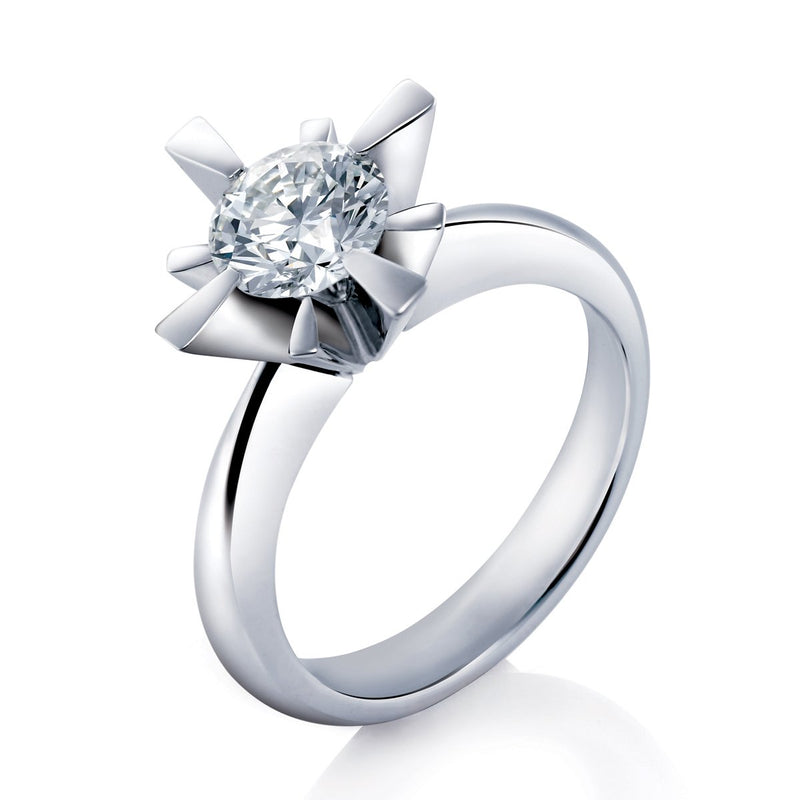 Liberty solitaire ring