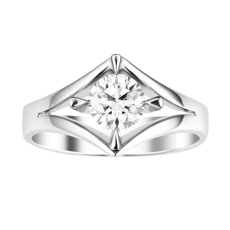 Nova diamond solitaire ring