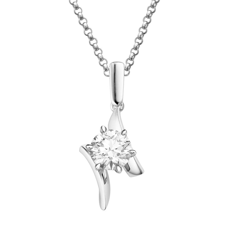 Riva diamond pendant