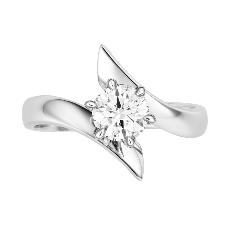 Riva diamond solitaire ring