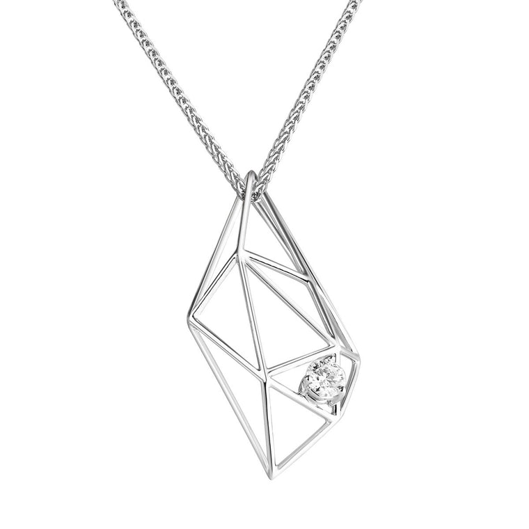Ilona diamond pendant