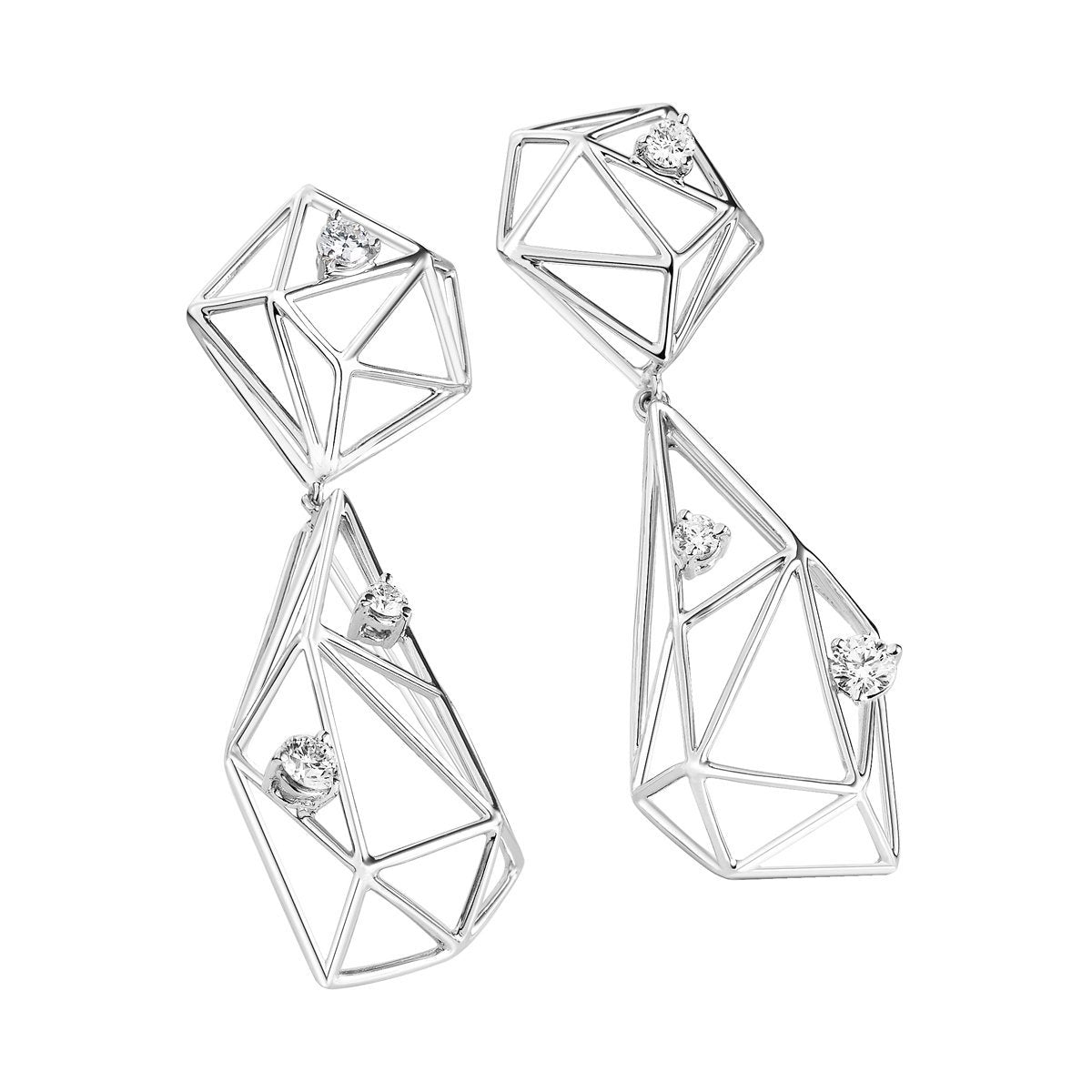 Ilona diamond earrings