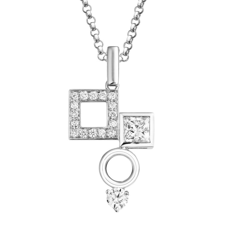 Chantum diamond pendant