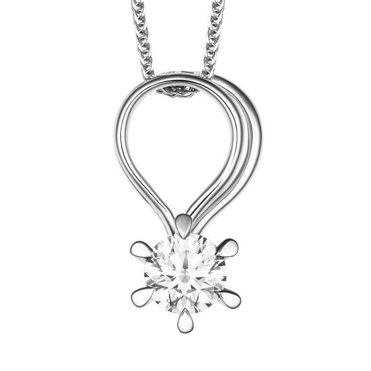 Tara diamond pendant