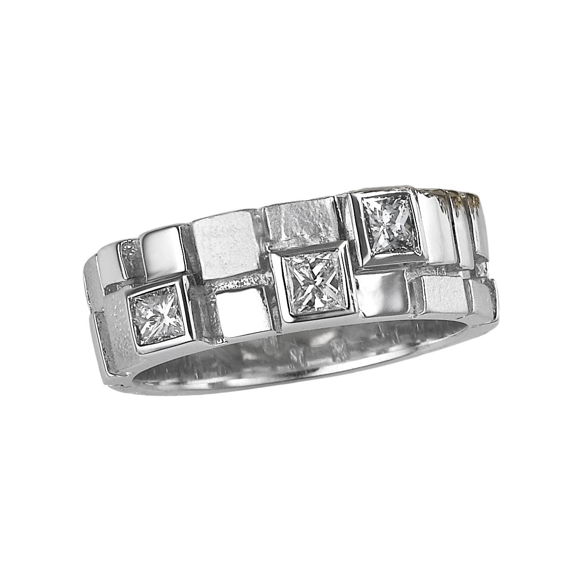 Archive Collection princess cut diamond ring