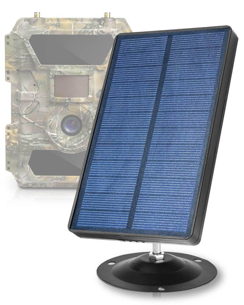 GlassRaven - 9-12V Solar Panel Kit for All CXP Trail Cams