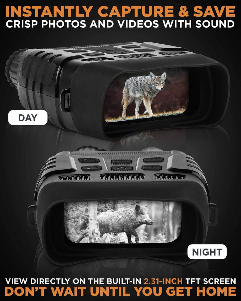 Night Vision IR Digital Binoculars