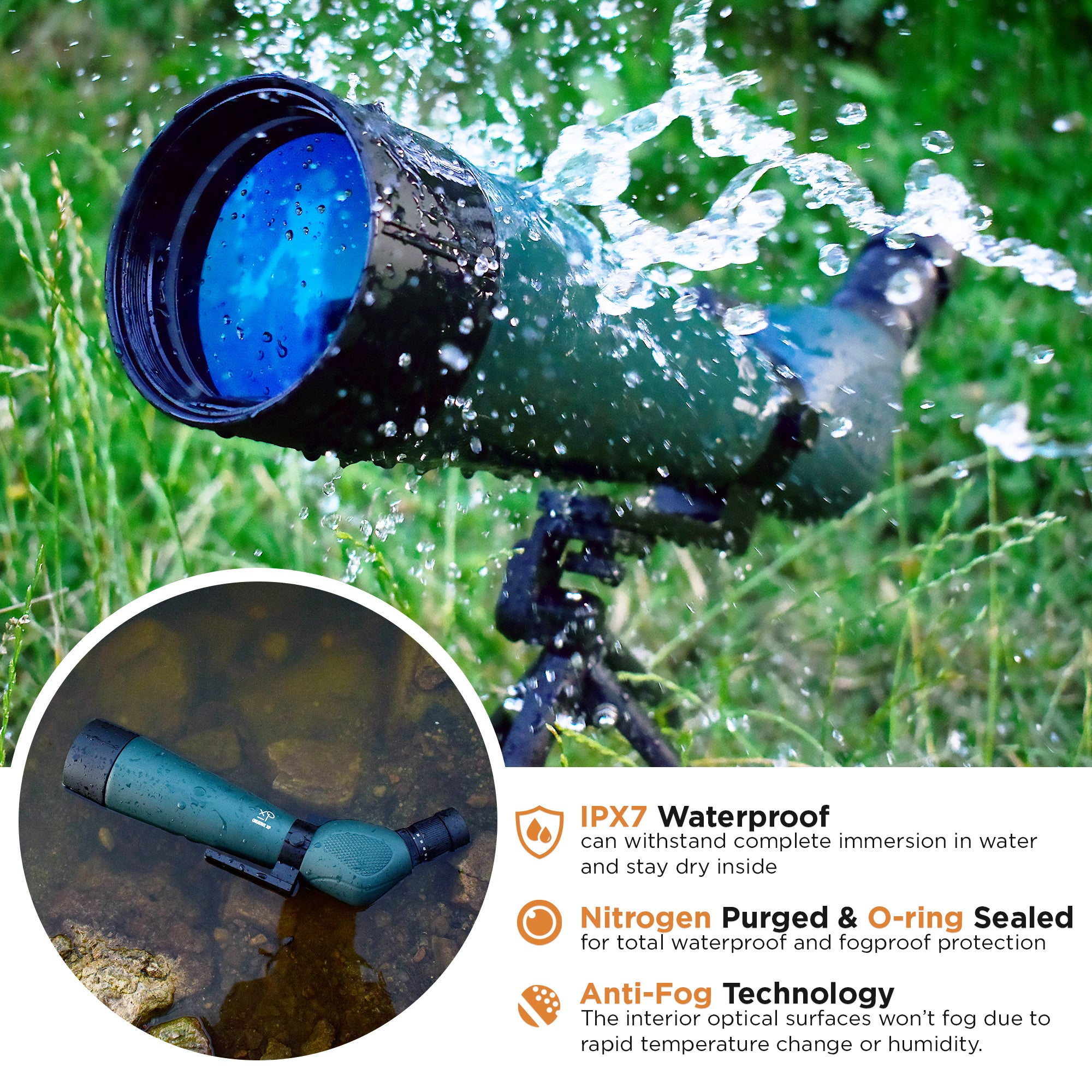 GlassOwl 2 - Night Vision IR Digital Binoculars