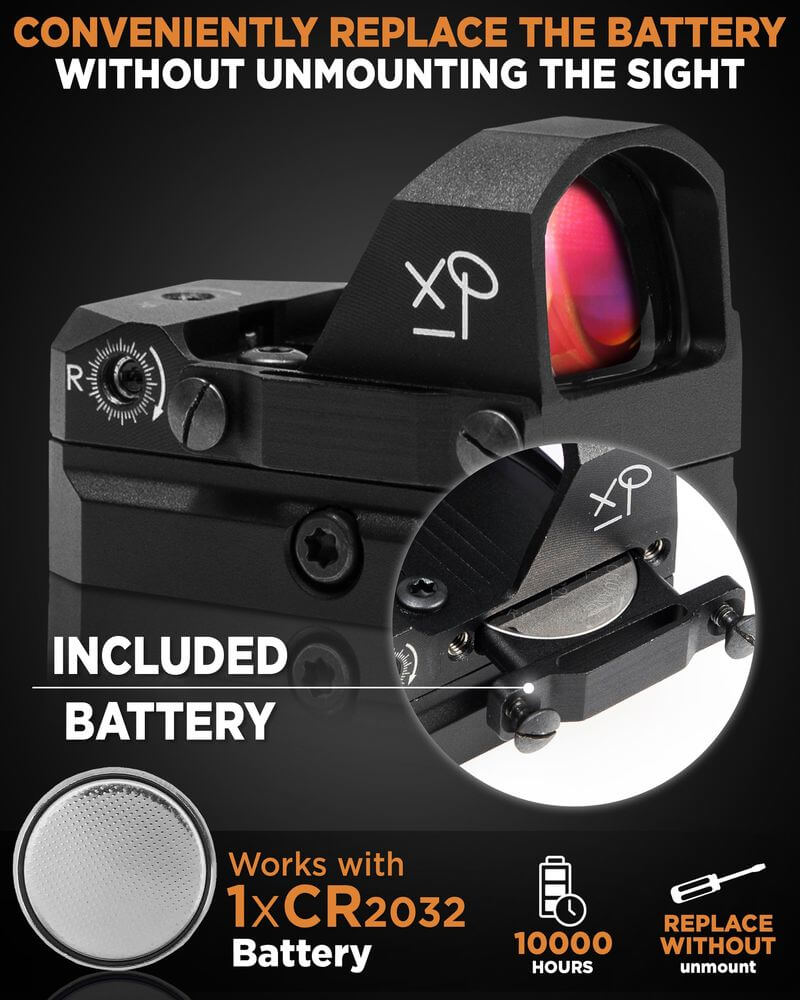GlassEagle - HD Red Dot Sight for Pistols 3 MOA