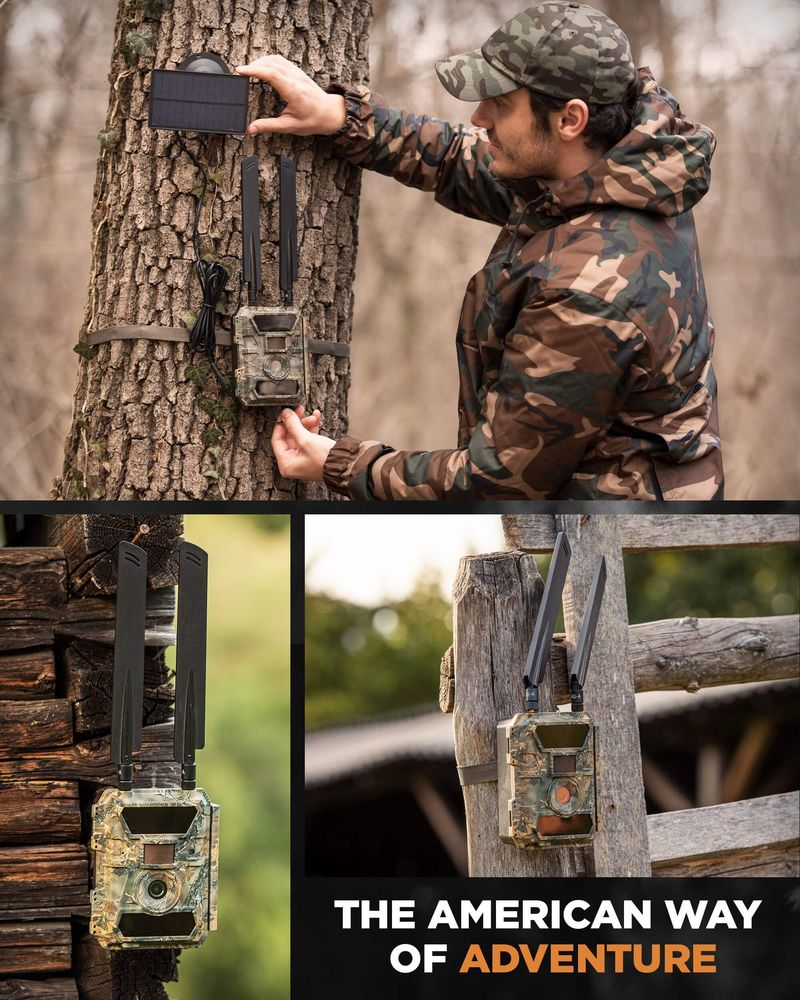 GlassRaven 4G LTE - Cellular IR & Full-HD Trail Camera