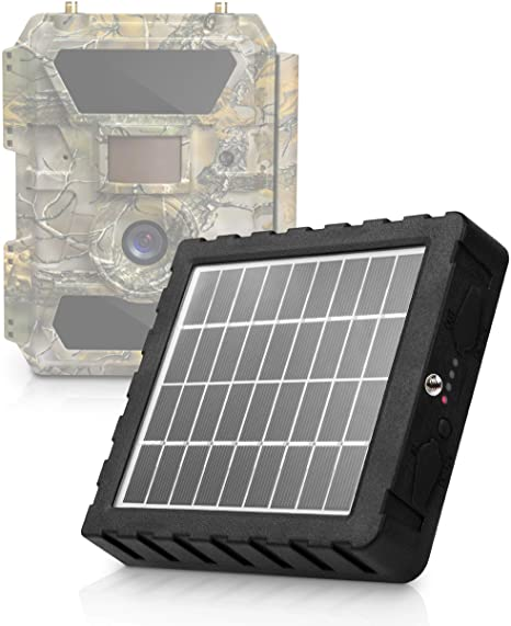 GlassRaven PRO - 9-12V Solar Panel Kit for All CXP Trail Cams