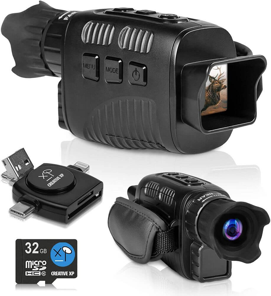 GLASSCONDOR - Digital Night Vision Monocular