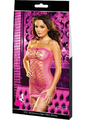 XTC Diamond Net Mini Dress