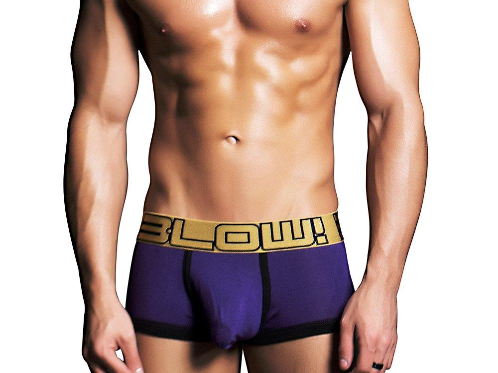 BLOW BOXER W/ALMOST NAKED (PURPLE)