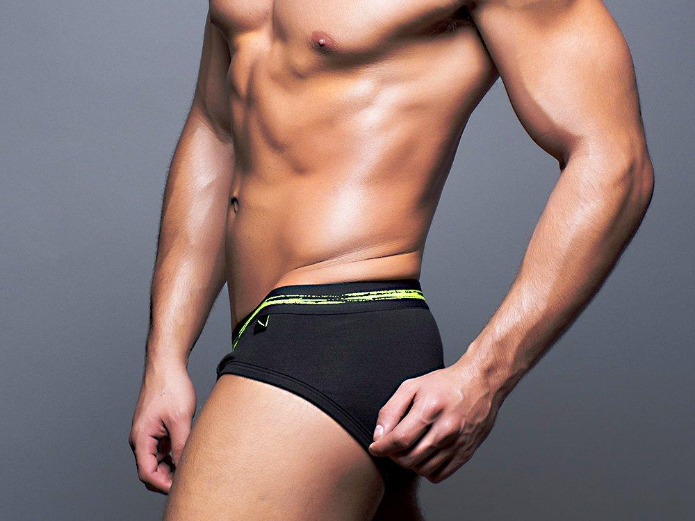 BASIX BRIEF (BLACK)