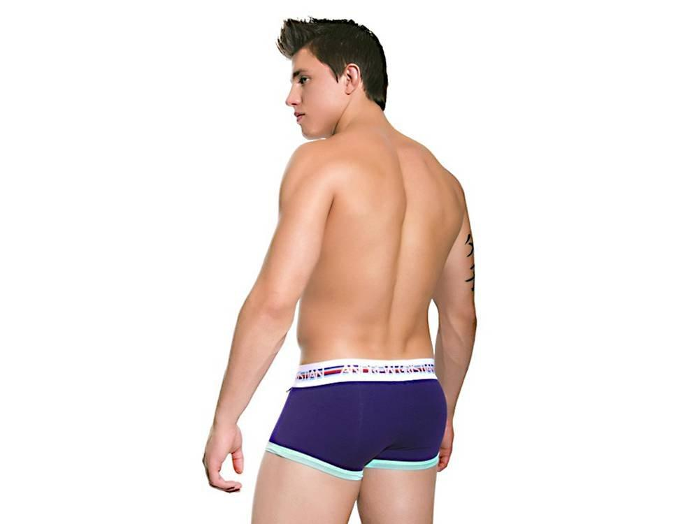 VIVID FUSE BOXER W/SHOW-IT (PURPLE)