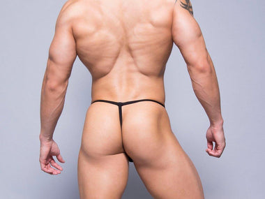 Sex Toy Australia Men's Underwear L TROPHY BOY G STRING (BLACK)