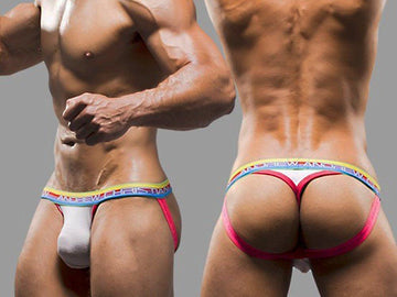 ALMOST NAKED JOCK THONG (WHITE)