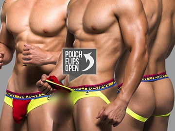 PEEK-A-BOO BRIEF (RED)