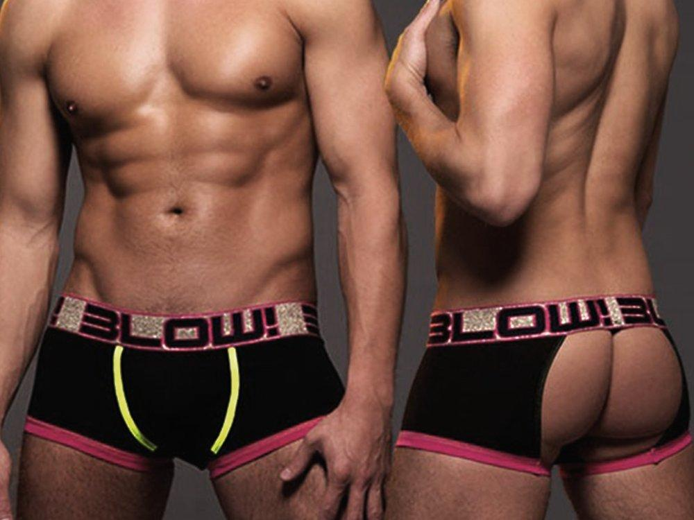 BLOW GLANCE BOXER (BLACK)