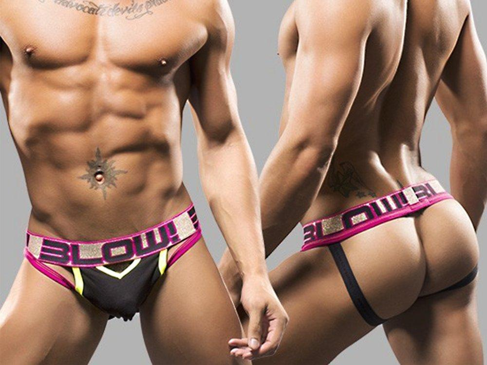 BLOW TEASER JOCK (BLACK)
