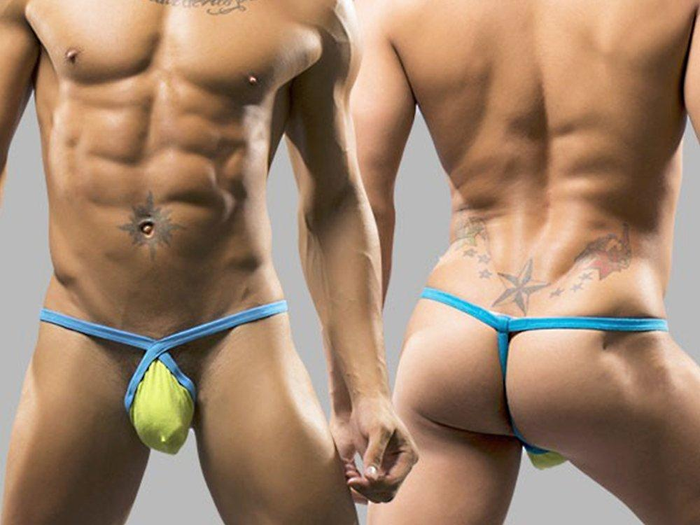 THONG DARE ALMOST NAKED (LIME)