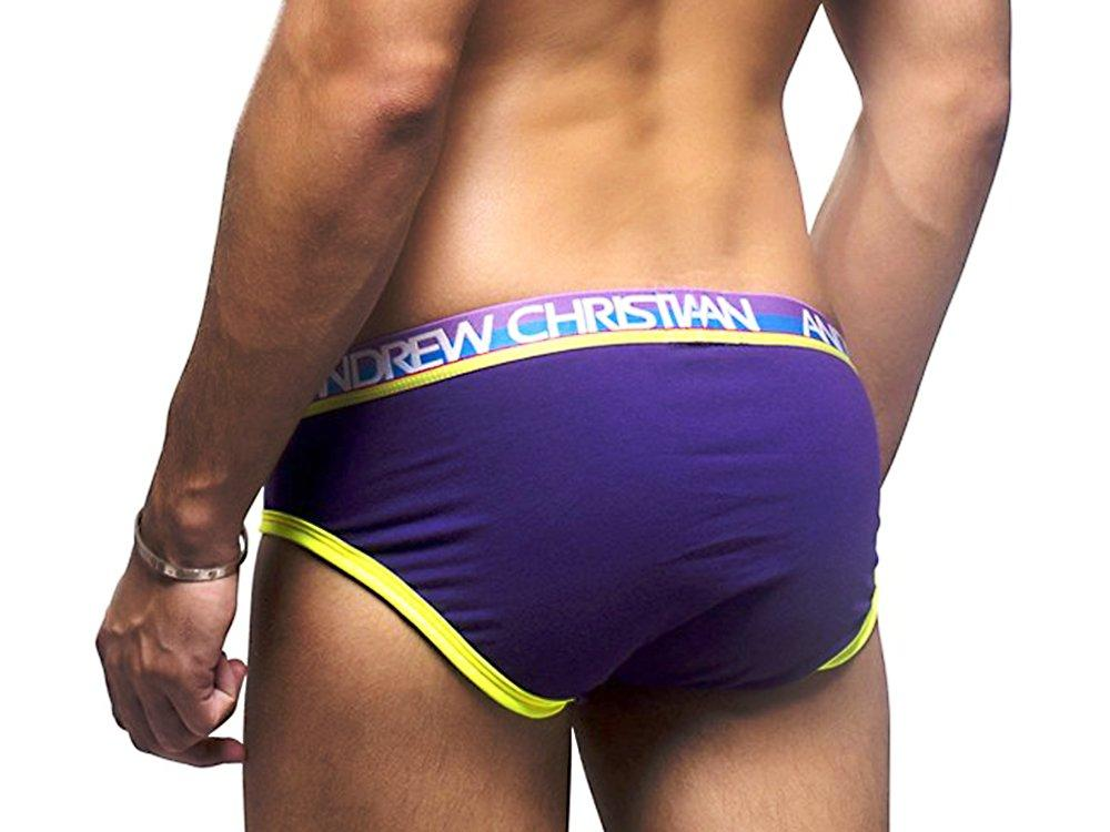 BOXED ALMOST NAKED BRIEF (PURPLE)
