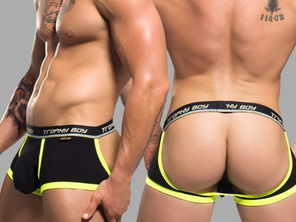 TROPHY BOY COMFORT JOCK (BLACK)