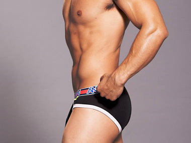 ALMOST NAKED SPORTS BRIEF (BLACK)