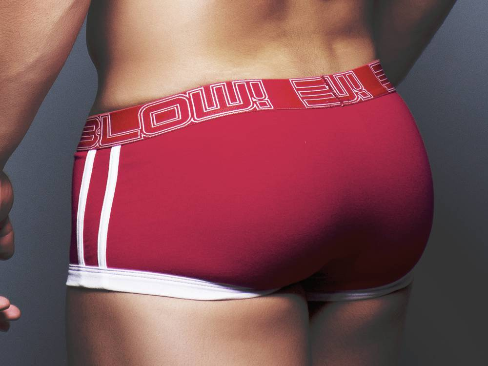 BLOW TAGLESS COTTON STRETCH BOXER (RED)